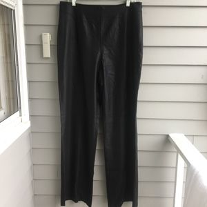 ESCADA High Waist Wool Silk Stretch Trouser 44